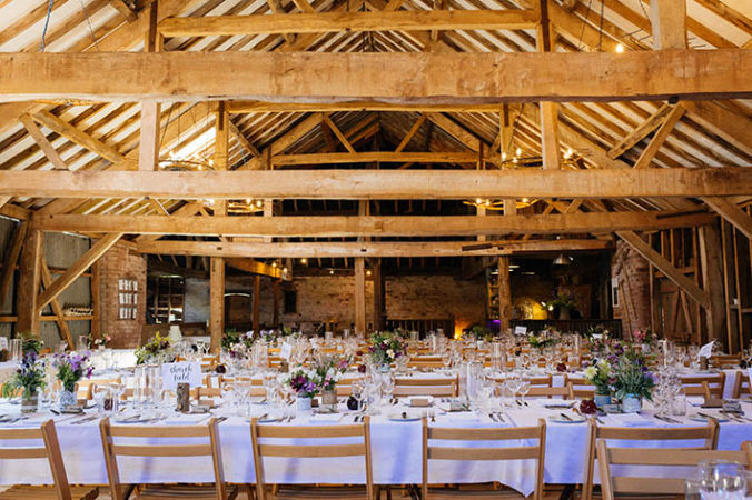 Herefordshire Wedding Venues - Haybarn, Dulas
