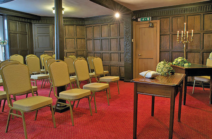 Herefordshire wedding venues - Jacobean Room Ledbury