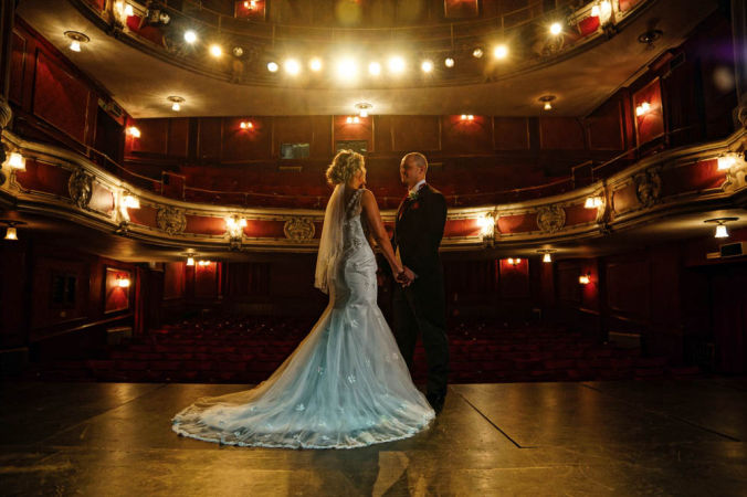 Lincoln wedding venues - New Theatre Royal